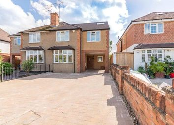 Thumbnail 4 bed semi-detached house for sale in The Crescent, Earley, Reading