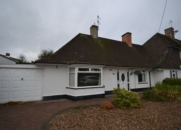 Thumbnail 2 bed detached bungalow to rent in Middleton Boulevard, Wollaton, Nottingham