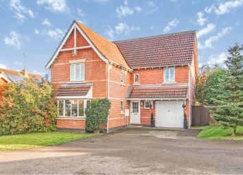 Thumbnail 4 bed detached house for sale in Kirkley Court, Haverhill