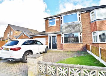 Thumbnail 3 bed semi-detached house for sale in Highbury Avenue, Irlam, Manchester