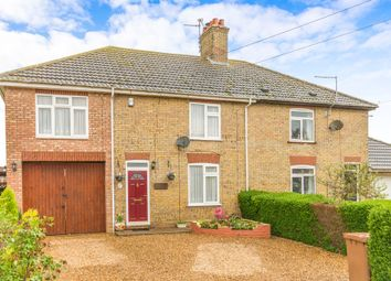 Thumbnail 4 bed semi-detached house for sale in Burnt House Road, Turves, Peterborough