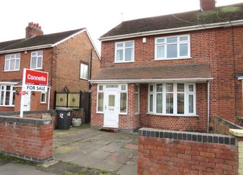 Thumbnail 3 bedroom semi-detached house for sale in Wyvern Avenue, Rushey Mead, Leicester