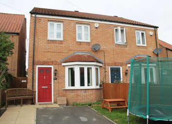 Thumbnail 3 bedroom semi-detached house for sale in Galtres Drive, Easingwold, York