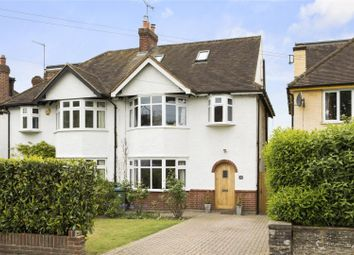 Thumbnail 4 bedroom semi-detached house for sale in Leigh Road, Cobham, Surrey