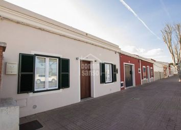 Thumbnail 3 bed town house for sale in Mahon, Mahon, Balearic Islands, Spain