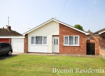 Thumbnail 2 bed detached bungalow for sale in Saxon Gardens, Caister-On-Sea, Great Yarmouth