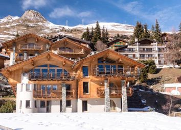 Thumbnail 4 bed semi-detached house for sale in Family Chalet, Verbier, Valais