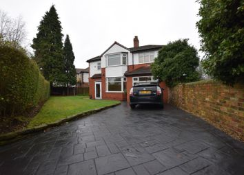 Thumbnail 4 bed detached house to rent in Dene Road, Didsbury, Didsbury