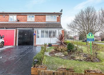 Thumbnail 3 bed semi-detached house for sale in Stableford Close, Birmingham