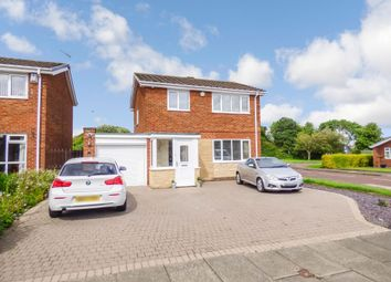 Thumbnail 3 bed detached house for sale in Wyndley Close, Whickham, Newcastle Upon Tyne