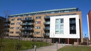Thumbnail 2 bedroom flat for sale in Kilcredaun House, Ferry Court, Cardiff.