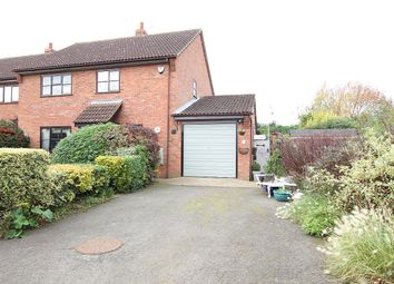 Thumbnail 3 bed link-detached house for sale in The Close, Haughley New Street, Stowmarket, Suffolk