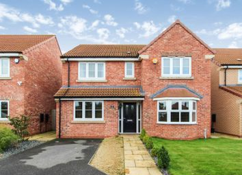 Thumbnail 4 bed detached house for sale in Woodward Way, Thorpe Willoughby