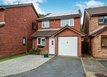 Thumbnail 3 bed detached house for sale in Peacock Close, Plympton, Plymouth