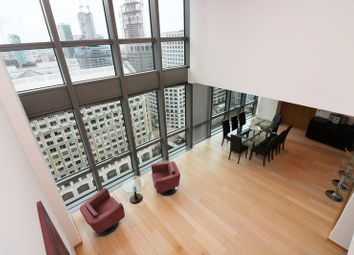 Thumbnail 3 bedroom flat to rent in 1 West India Quay, Canary Wharf