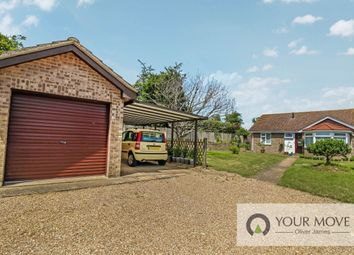 Thumbnail 2 bed bungalow for sale in Wesley Close, Beccles