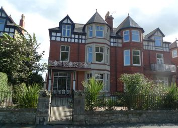 Thumbnail 2 bed flat for sale in Garth Court, Abbey Road, Llandudno