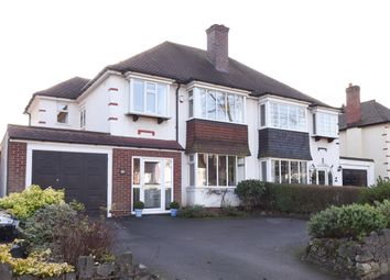 Thumbnail 4 bed semi-detached house for sale in Tamworth Road, Sutton Coldfield