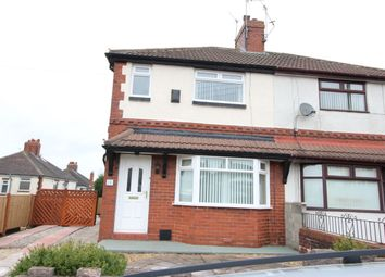 Thumbnail 2 bedroom semi-detached house for sale in Stoneleigh Road, Chell, Stoke-On-Trent
