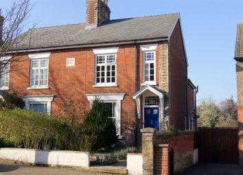 Thumbnail 3 bedroom semi-detached house for sale in York Road, Bury St. Edmunds