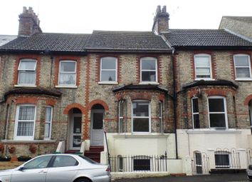 Thumbnail 3 bed terraced house for sale in Bradstone Road, Folkstone