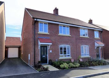 Thumbnail 4 bed semi-detached house for sale in Thatcher Drive, Woodford Halse, Northants