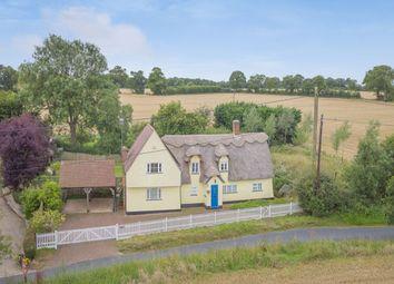 Thumbnail 4 bed detached house for sale in Chatter End, Farnham, Bishop's Stortford