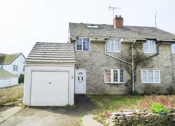 Thumbnail 3 bed semi-detached house for sale in Church Lane, Portland, Dorset