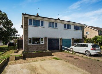 Thumbnail 3 bed semi-detached house for sale in Chestnut Close, Brampton, Huntingdon