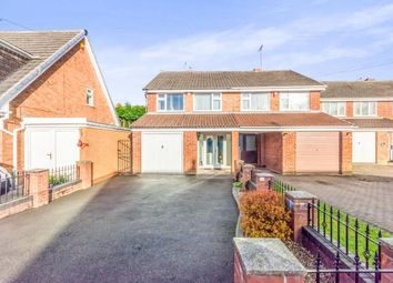 Thumbnail 3 bed semi-detached house for sale in Harlech Road, Willenhall, West Midlands