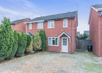 Thumbnail 2 bed semi-detached house for sale in Cox Close, Bidford-On-Avon, Alcester
