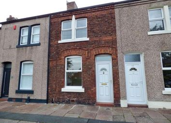 Thumbnail 2 bed terraced house for sale in Garfield Street, Carlisle, Cumbria
