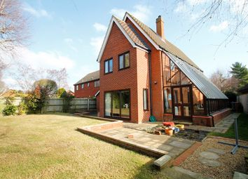 Thumbnail 4 bed detached house for sale in Forest Lane, Martlesham Heath, Ipswich