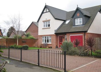 Thumbnail 4 bed detached house for sale in Haining Court, Summerpark, Dumfries, Dumfries And Galloway.