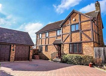 Thumbnail 4 bedroom detached house for sale in Bacon Hill, Olney