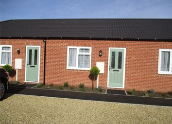Thumbnail Terraced bungalow to rent in Willow Mews, Huntingtower Road, Grantham