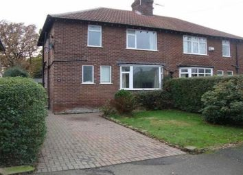 Thumbnail 3 bed property to rent in Bridle Road, Woodford, Stockport