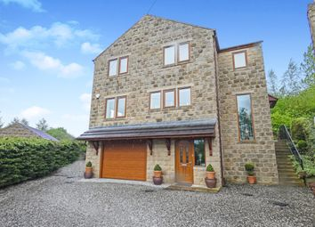Thumbnail 4 bed detached house for sale in The Croft, Thwaites, Keighley