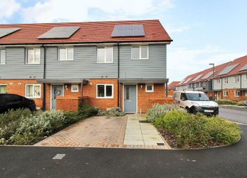 Thumbnail 3 bed end terrace house for sale in Waterfall Crescent, Bewbush, Crawley, West Sussex