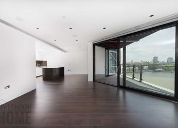Thumbnail 3 bedroom flat to rent in Riverlight Quay, London