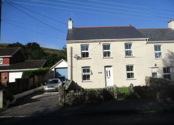 Thumbnail 4 bed semi-detached house for sale in Higher Bugle, Bugle, St. Austell