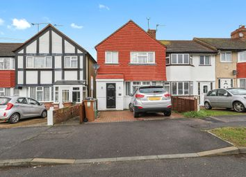 Thumbnail 3 bedroom end terrace house for sale in Buckland Way, Worcester Park