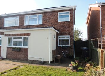 Thumbnail 3 bed semi-detached house to rent in Jubilee Close, Downham Market