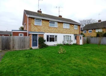Thumbnail 3 bed semi-detached house for sale in Kirby Walk, Netherton, Peterborough, Cambridgeshire