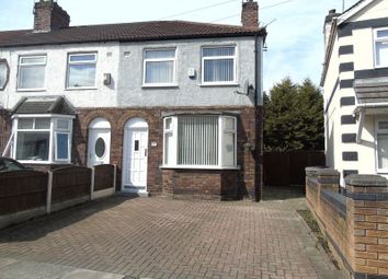 Thumbnail 3 bedroom end terrace house for sale in Gentwood Road, Huyton, Liverpool
