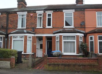 Thumbnail 3 bed terraced house for sale in Newton Road, Ipswich