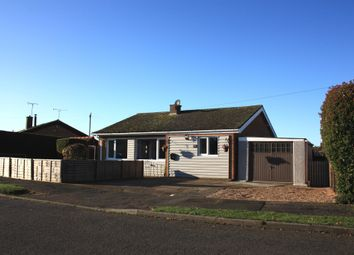 Thumbnail 3 bedroom detached bungalow for sale in South Moor Drive, Heacham, King's Lynn