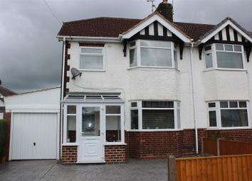 Thumbnail 3 bed semi-detached house for sale in Searwood Avenue, Kirkby-In-Ashfield, Nottingham