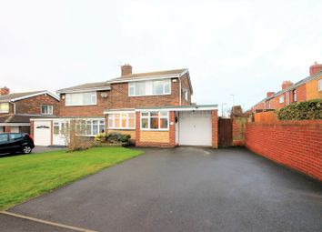 Thumbnail 3 bed semi-detached house for sale in Glenluce, Chester Le Street