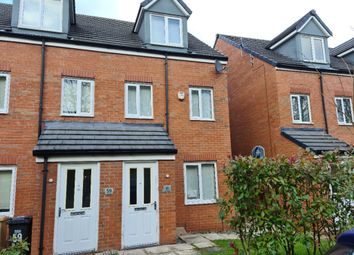 Thumbnail 3 bed town house to rent in Academy Way, Lostock, Bolton